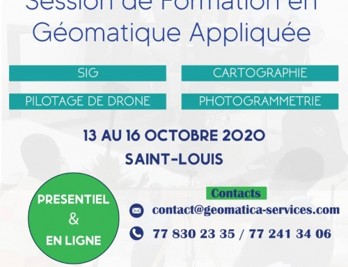 Session de Formation en Geomatique appliquée